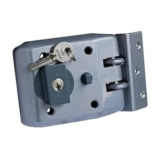 Cerradura CISA cilíndro fijo modelo 1 - hierropalermo.com