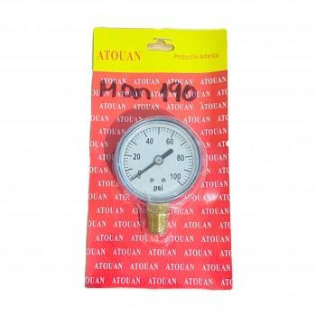Manómetro Radial 0-100PSI...