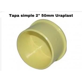 "Tapón simple 2"" 50mm..."