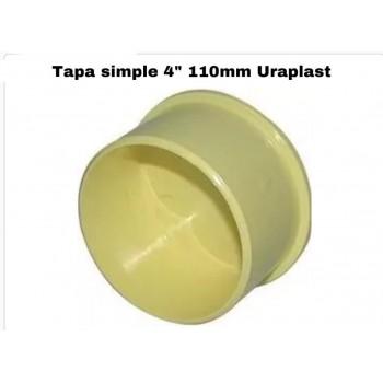 "Tapón simple 4"" 110mm..."