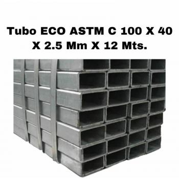 Tubo est. 100 x 40 x 2.25...