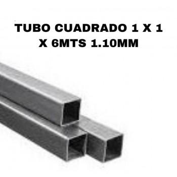 Tubo cuadrado 1 x 1 x 6mts...