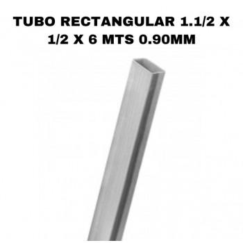Tubo rectangular 1.1/2 x...