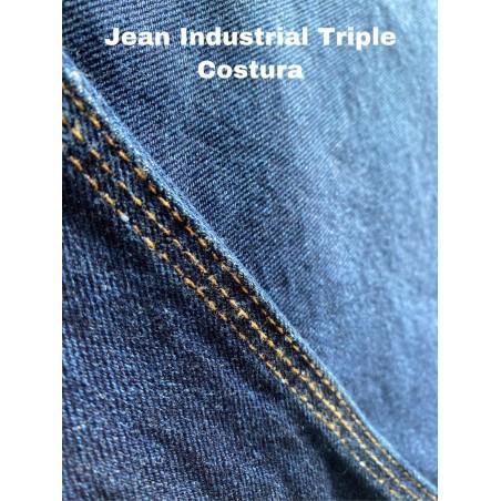 Pantalon jean triple costura caballero marca nacional - hierropalermo.com
