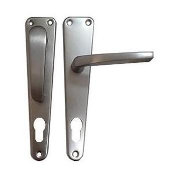 Manilla Fija/Movil Aluminio Natural/Plateada marca nacional - hierropalermo.com